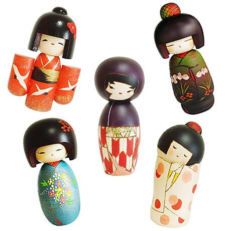 Dónde comprar muñecas kokeshi