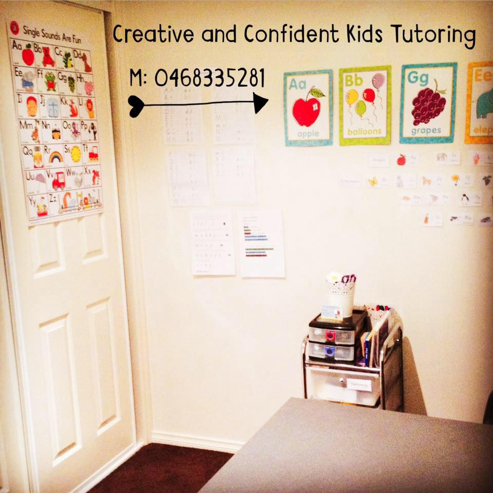 Creative and Confident Kids Tutoring