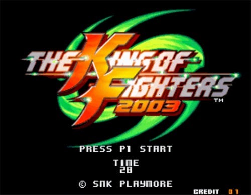 The King Of Fighter 2003 PC Game