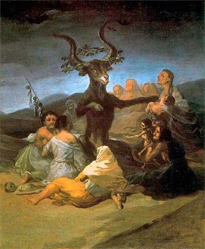 Francisco Goya's Witches Sabbath, 1798