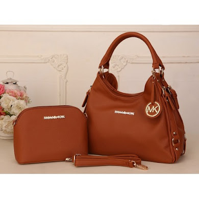 AAA WITH MICHAEL KORS LOGO (BROWN)