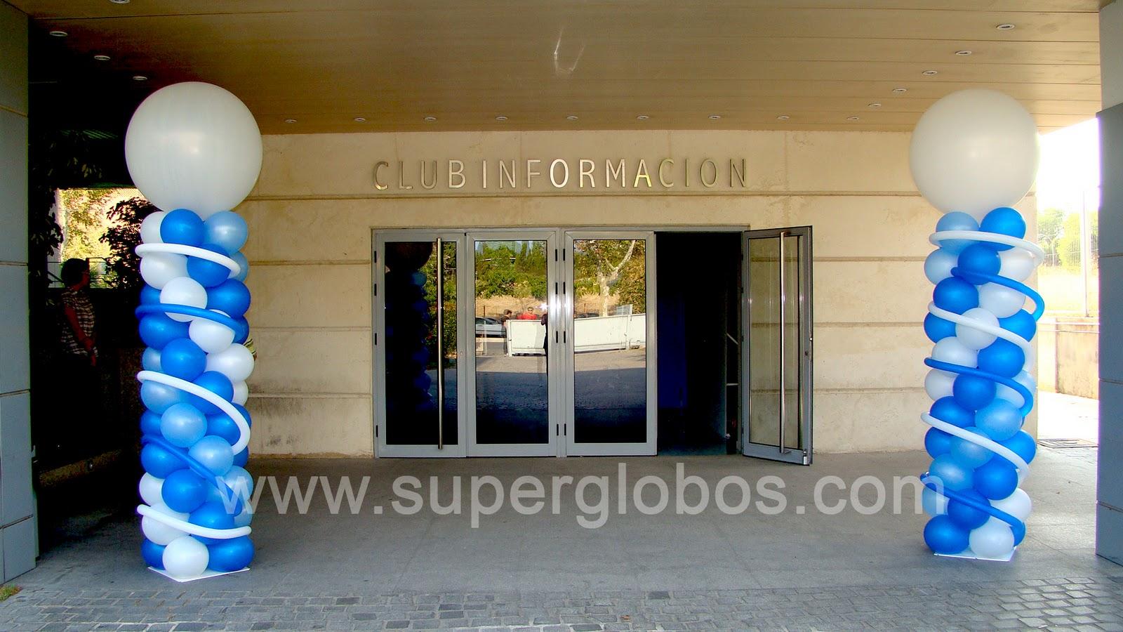 Decoraci n con globos para eventos y fiestas superglobos - Globos para eventos ...