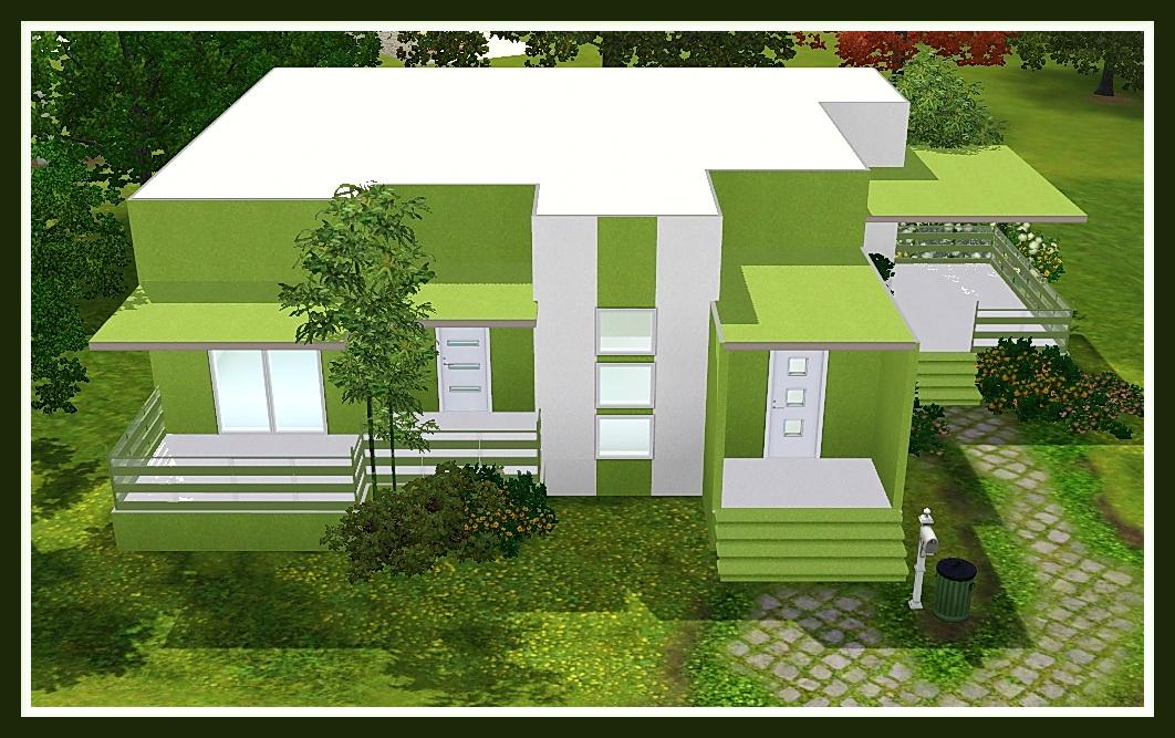 FIANZONER 4SIMSFANS 001. image number 63 of desain rumah the sims ... & Desain Rumah The Sims \u0026 Contoh Gambar Denah Rumah 1 Kamar Tidur 3D