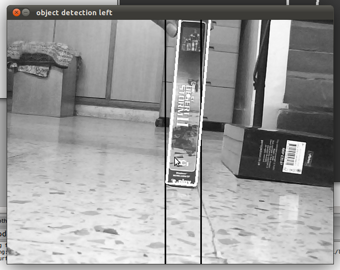 Computer vision robotics and arduino robot control using