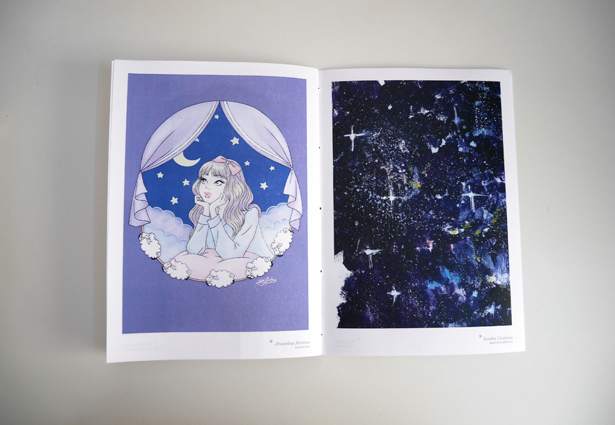 moomins, fanzine, cute, illustration, night