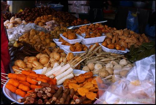Wordless Wednesday #WW - Mewahnya Makanan Malaysia