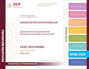 Ficha para el Trabajo en CTE Séptima Sesión Ordinaria 2018-2019 secundaria