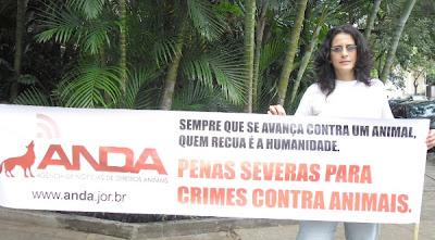 Lúcia Veríssimo, vegana e ativista há mais de 20 anos