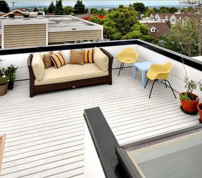 Fotos de terrazas terrazas y jardines febrero 2013 for Modelo de casa con terraza