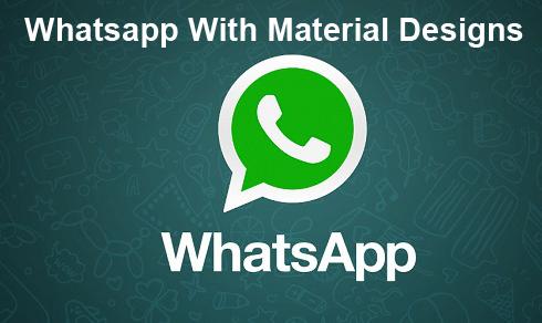 Download WhatsApp .APK 2.12.41 Terbaru Dengan UI Material ...