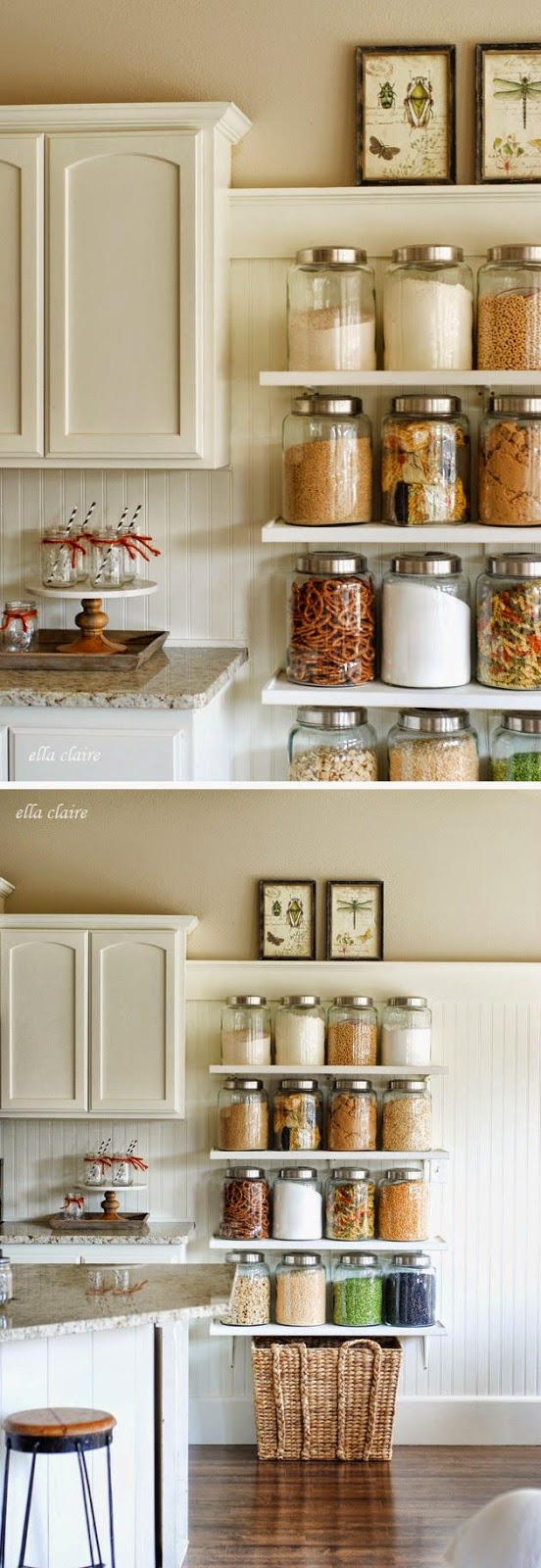 Beautiful And Functional Storage With Kitchen Open: How To Style Open Shelving In The Kitchen So It's
