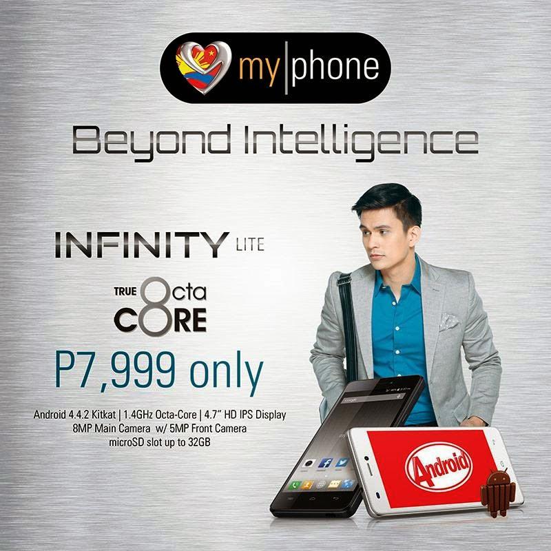 MyPhone Infinity Lite Specs Price, MyPhone Infinity Lite Octa Core