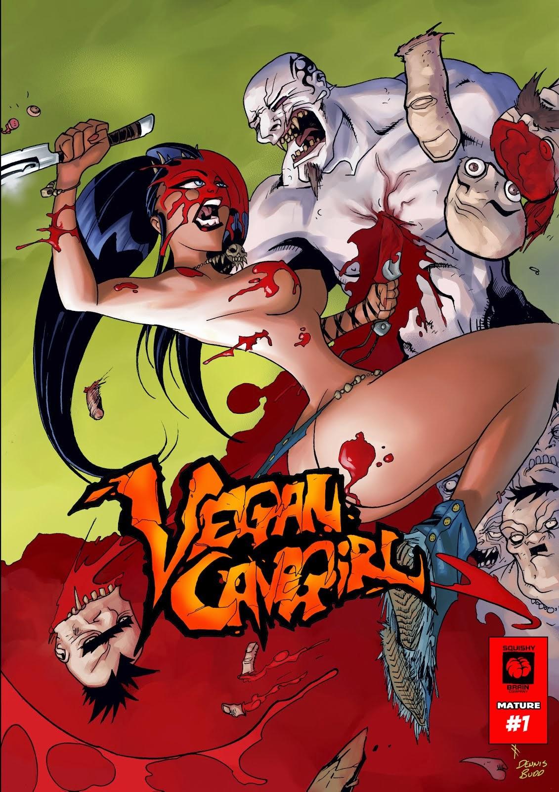 VeganCaveGirl Digital #1