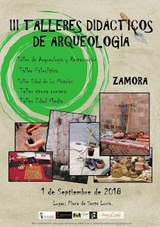 Talleres de Arqueología Didáctica de Zamora