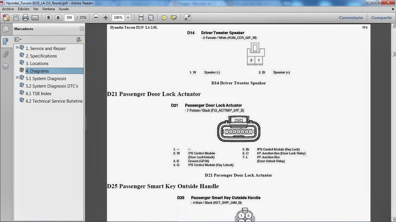 2012 hyundai genesis with driver info navigation manual owners manual