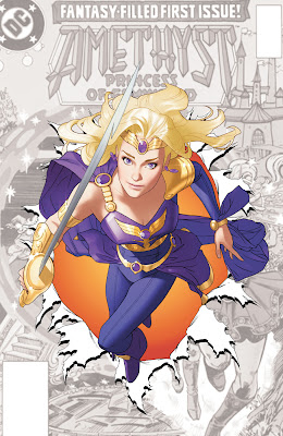 Cover of Sword & Sorcery #0 featuring Amethyst