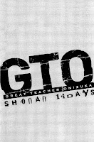 GTO 14 Shonan Days - couverture