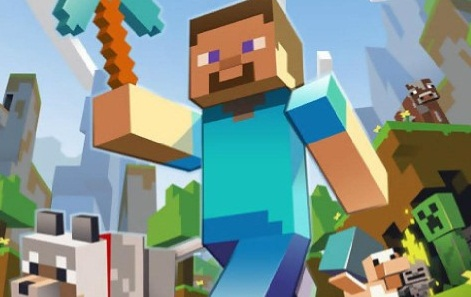 imagem jogo Minecraft logo