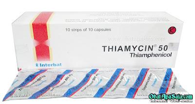 Dosis dan Harga Thiamycin Kapsul, Sirup Kering, Kaplet