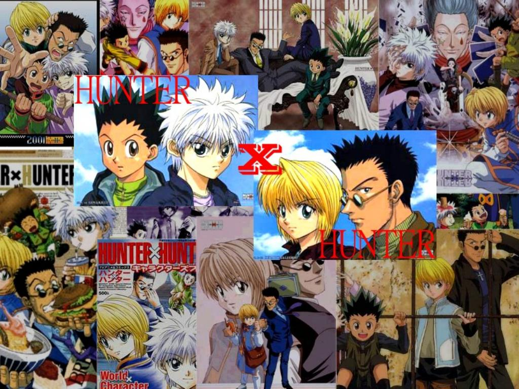 hunter x hunter color picture anime picture