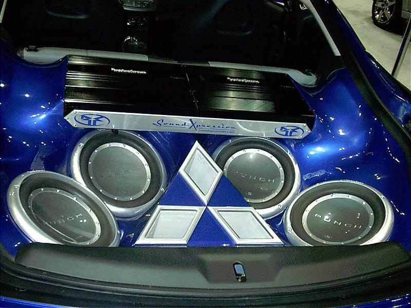 Eclipse speakers car