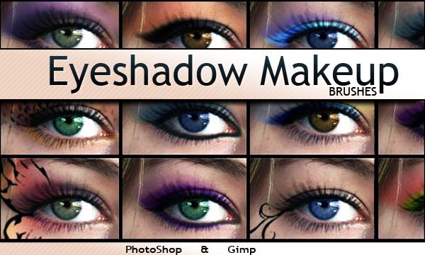 You Photoshop: Eyeshadow Makeup Photoshop & GIMP Brushes