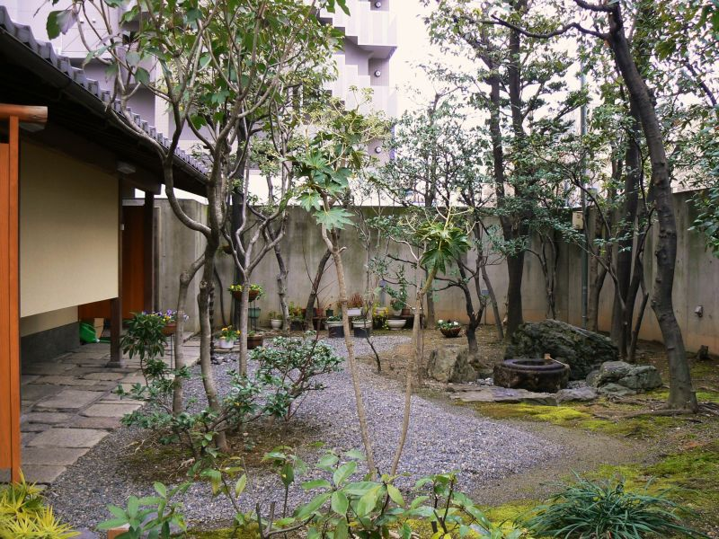 World tour center small japanese garden for Garden design for small gardens