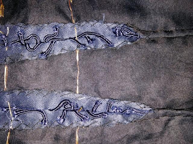 Darts in soutache lace   www.stinap.com