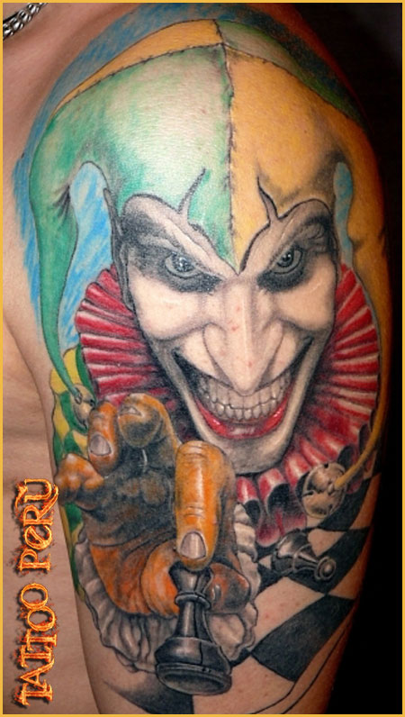 Tatuajes: Historia de los Tatuajes. 01_el_joker