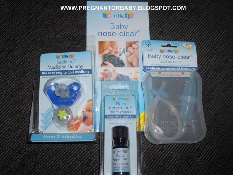 Review Of The 4 Little 1 Nasal Aspirator, Medicine Dummy And Baby Nose Clear Room Vapour - The Life Of Hannah Rose