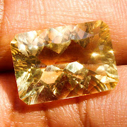 Batu Permata Yellow Citrine - SP874