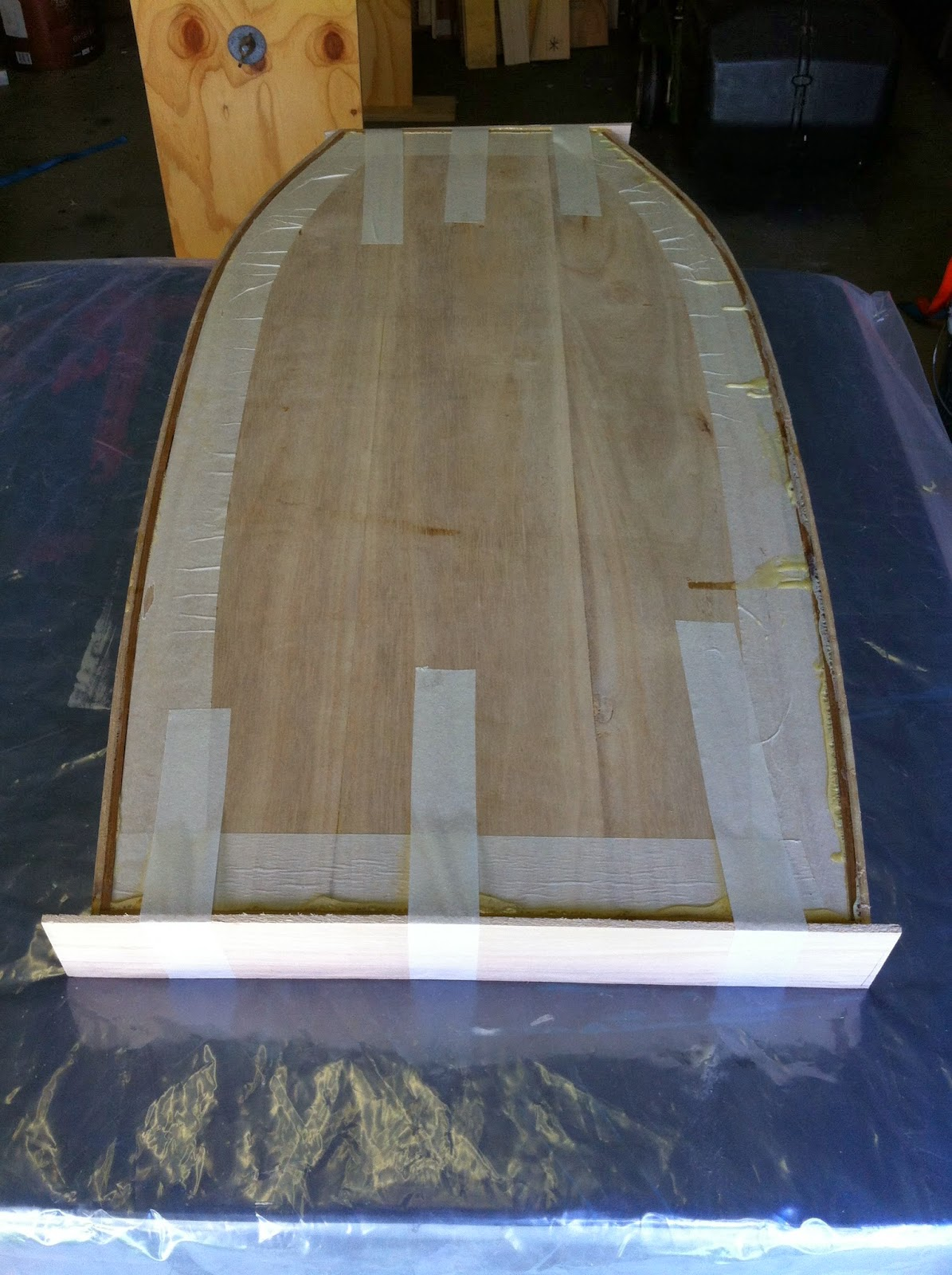 wood boogie board
