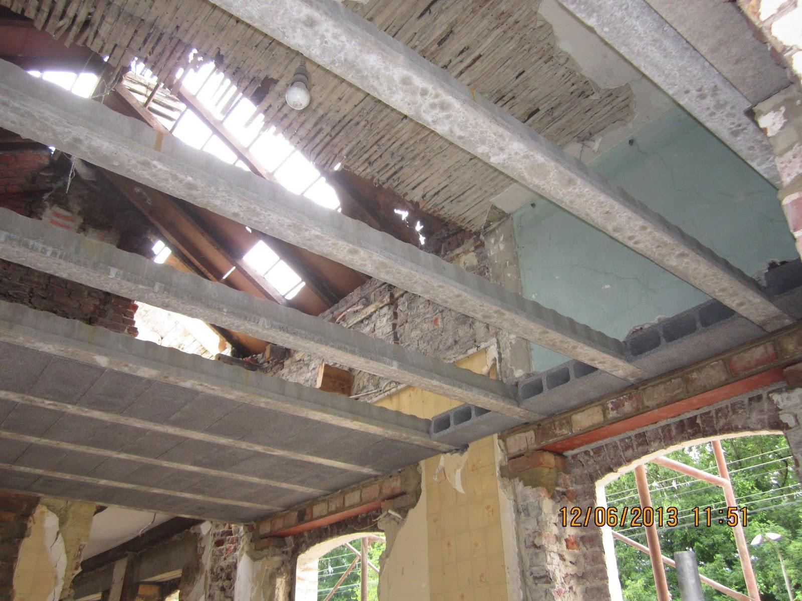 R novation de l 39 ancienne gare de gastuche - Plancher leger pour renovation ...