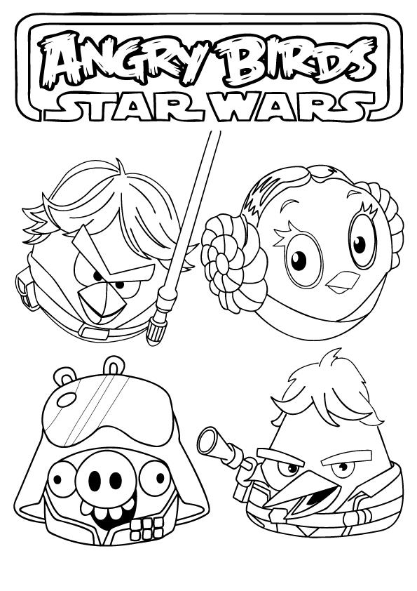 Ausmalbilder Star Wars zum Ausdrucken - AusmalbilderHQ