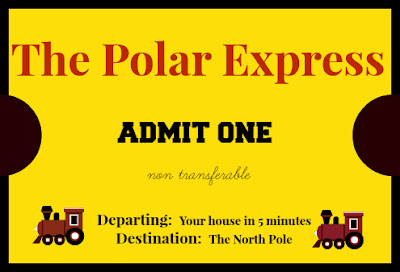 Polar express ticket b meaning new calendar template site for Polar express golden ticket template