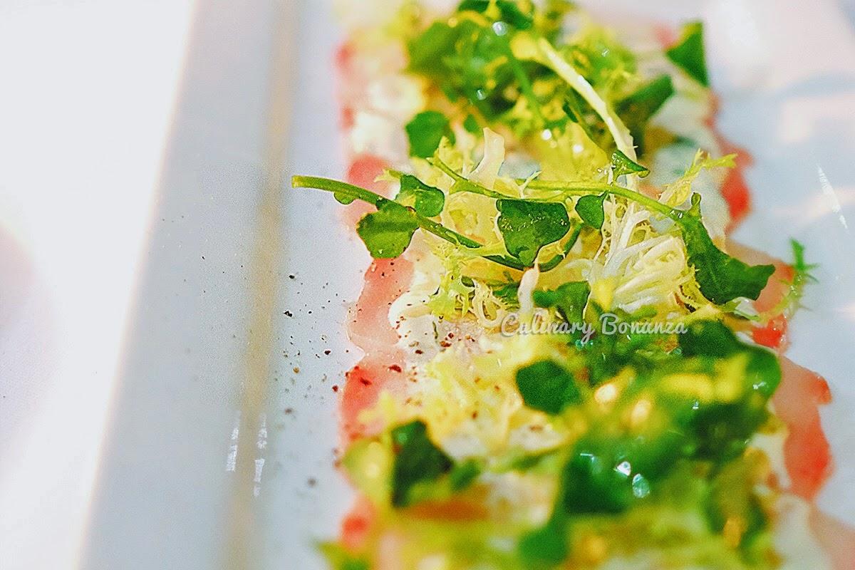 Swordfish Carpaccio (source: www.culinarybonanza.com)