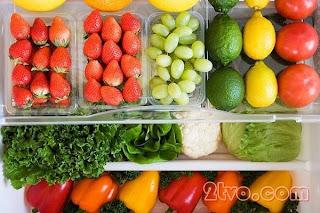 Mẹo giữ hoa quả tươi lâu