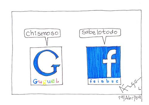 Guerra sucia, Facebook bloquea los dominios Blogspot