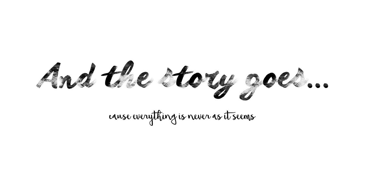 and the story goes...