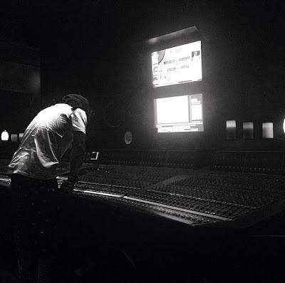 fotos de lil wayne en el estudio grabando el disco tha carter v