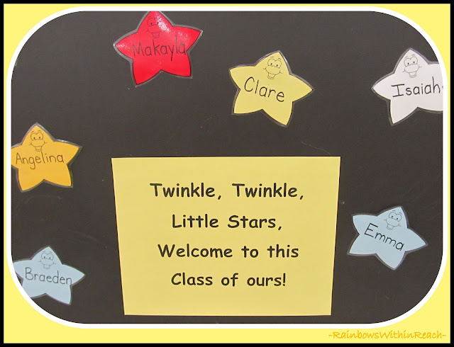 Back-to-School Bulletin Board: Twinkle, Twinkle Little Star Theme