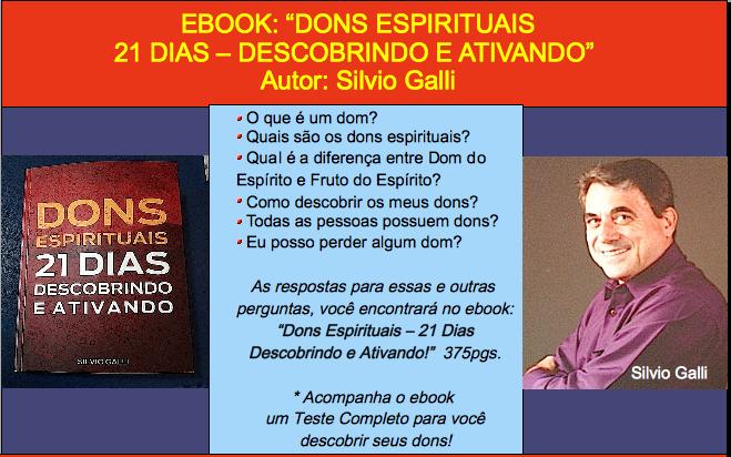 DONS ESPIRITUAIS - 21 DIAS DESCOBRINDO E ATIVANDO