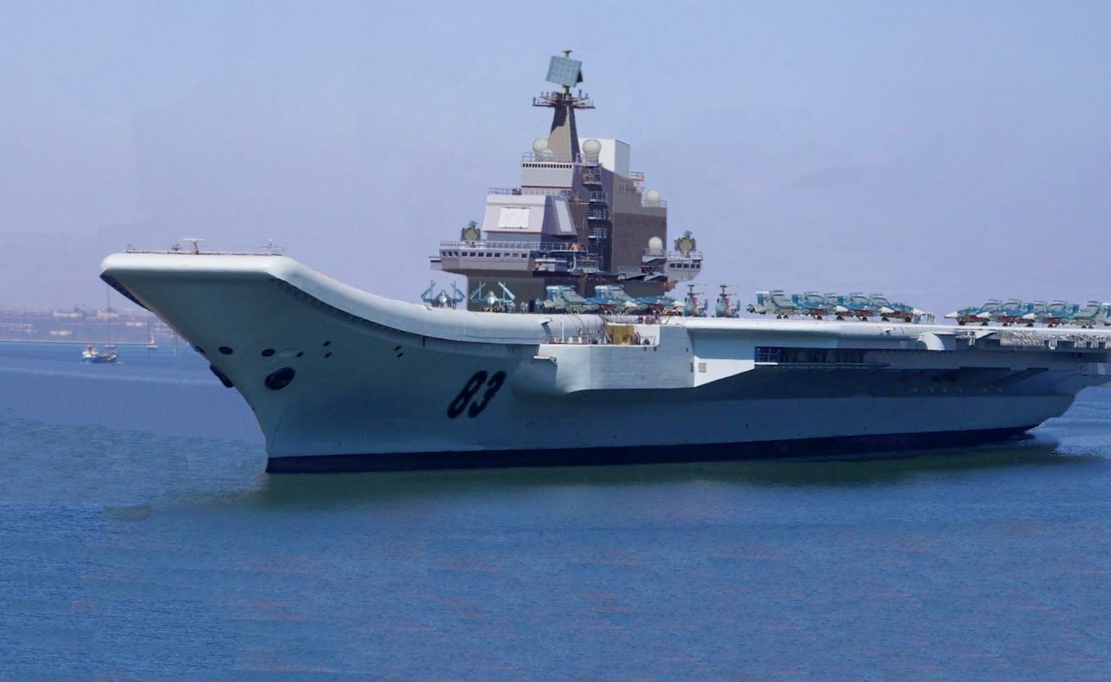 ... World Power Balance: Chinas first aircraft carrier starts sea trials
