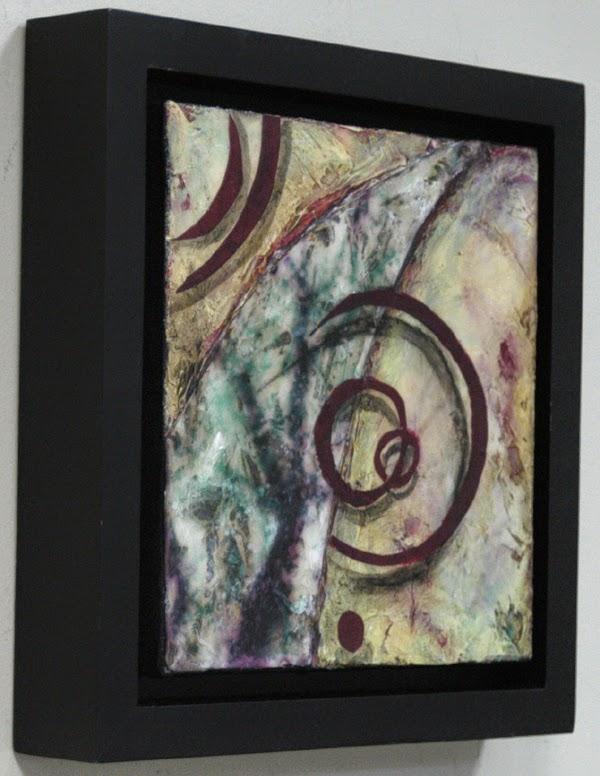framed view of Sandra Duran Wilson painting