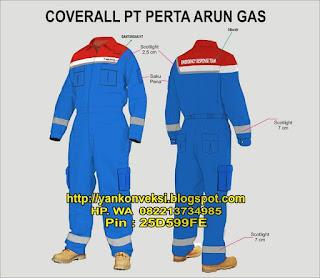WEARPACK PT PERTAMINA ARUN GAS
