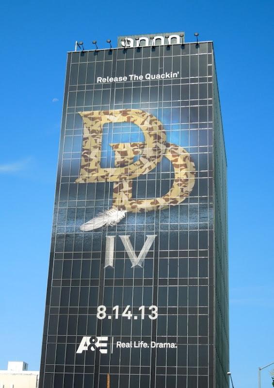 Giant Duck Dynasty season 4 teaser billboard