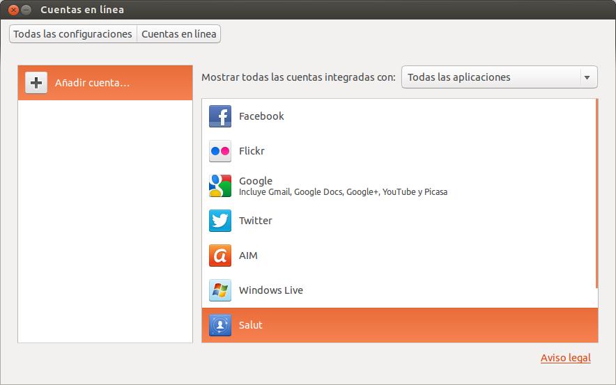 Sincronizar picasa, youtube, google docs... en Ubuntu 13.04, picasa ubuntu 13.04, google docs ubuntu 13.04