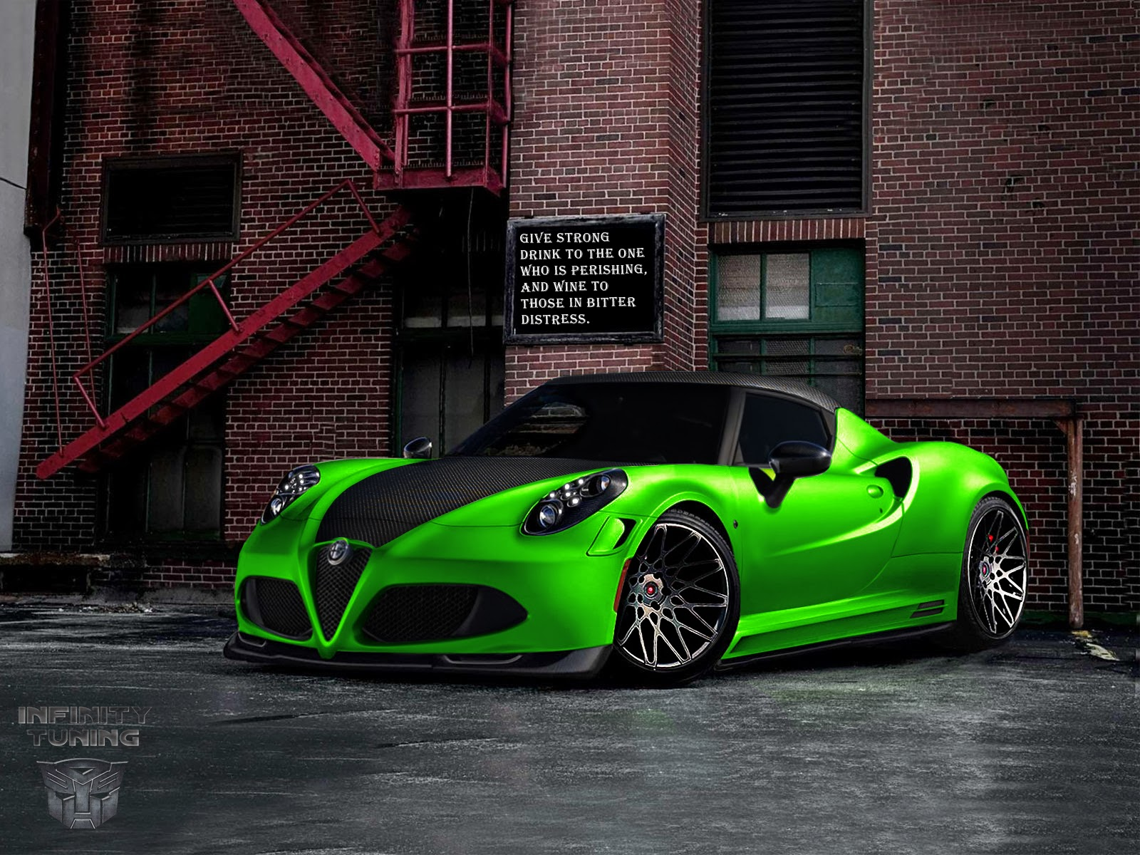 alfa romeo 4c by infinity tuning infinity tuning blog. Black Bedroom Furniture Sets. Home Design Ideas