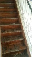 Treppenrenovierung - Treppenwangenverkleidung links und rechts 2