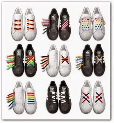 Красивая шнуровка. Как красиво завязать шнурки